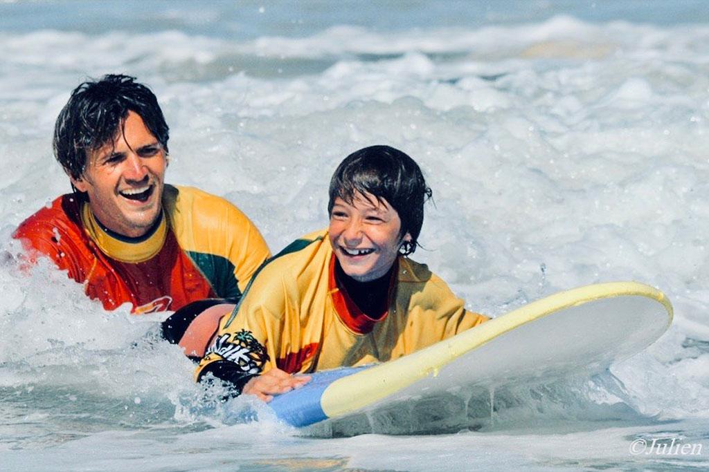 moniteur cours surf