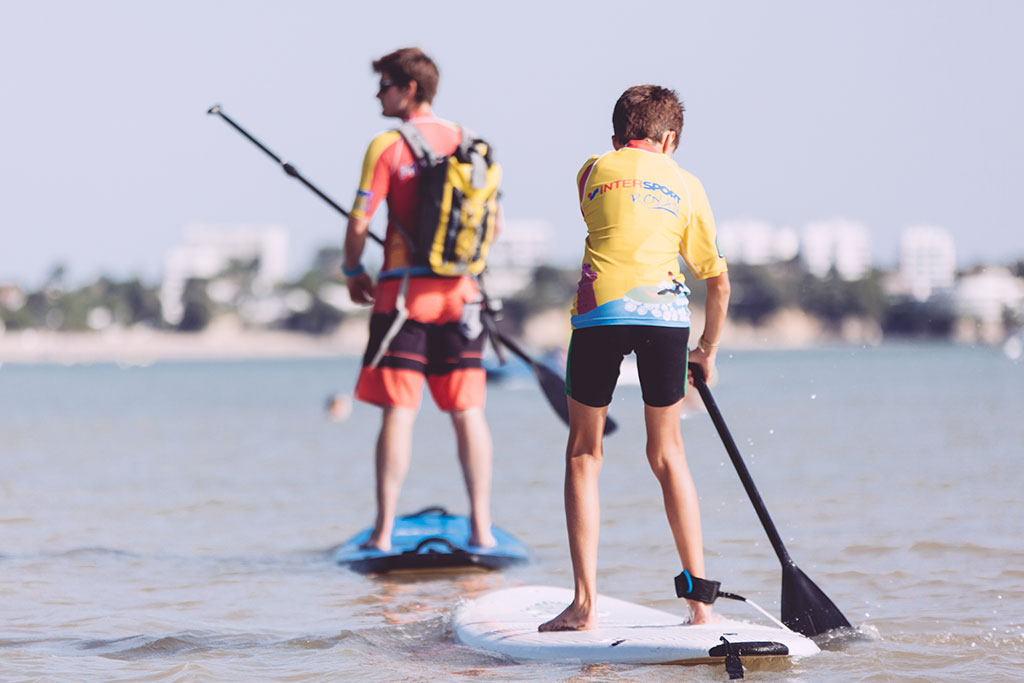 Séssion stand-up paddle